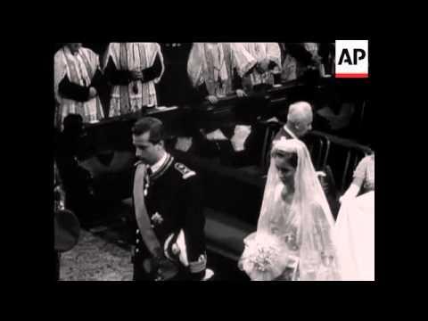 Royal Wedding Of Prince Albert Of Liege And Princess Paola - 1959