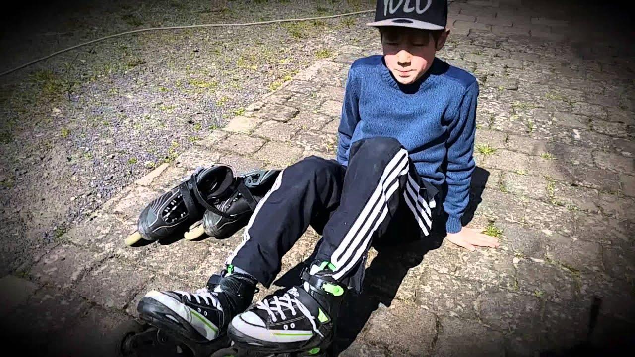 ebcee7e405b Erstes Video + inliner richtig anziehen. Skater Profi