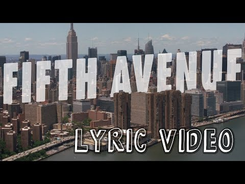 Walk off the Earth - Fifth Avenue (Lyric Video)
