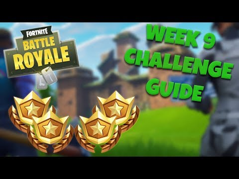 HOW TO COMPLETE ALL WEEK 9 CHALLENGES – SEASON 4 | FORTNITE BATTLE ROYALE TIPS/TUTORIALS