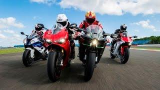 2015 Superbike Showdown: Ducati 1299 Panigale S v. BMW S1000RR v. Yamaha R1 v. Kawasaki Ninja H2