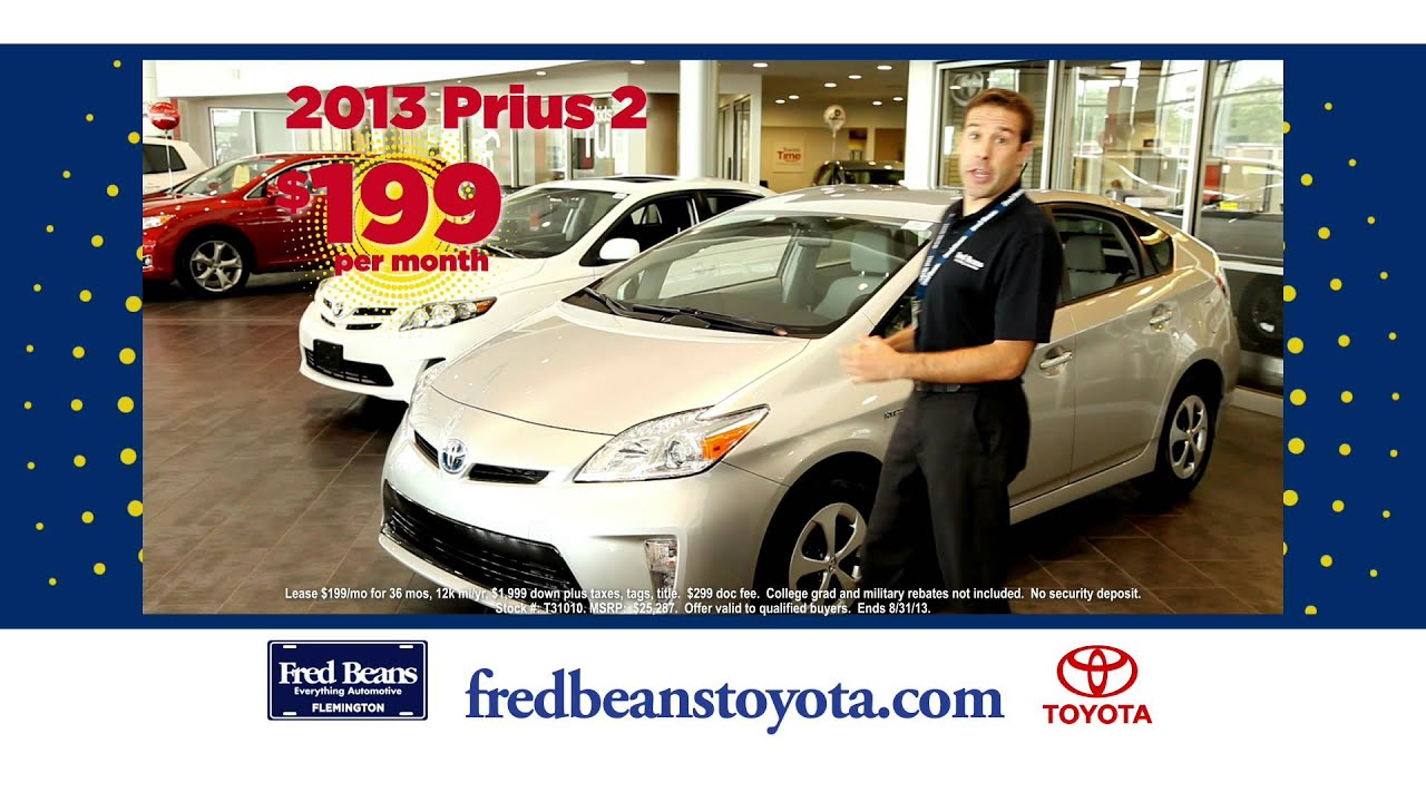 Fred Beans Toyota >> Fred Beans Toyota Of Flemington Sales Challenge