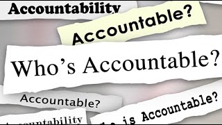 Holding Our People Accountable