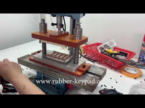 Silicone Rubber Membrane Keypad/Epoxy Coating Membrane Keyboard