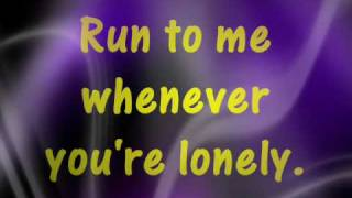 Run To Me with Lyrics - Barry Manilow & Dionne Warwick