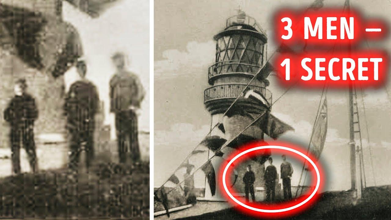 3 Männer sind von einem Leuchtturm verschwunden, niemand hat sie noch gefunden + video