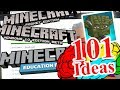 101 Ideas for MINECRAFT LEARNERS - MiNET server - JAVA MAPS to BEDROCK