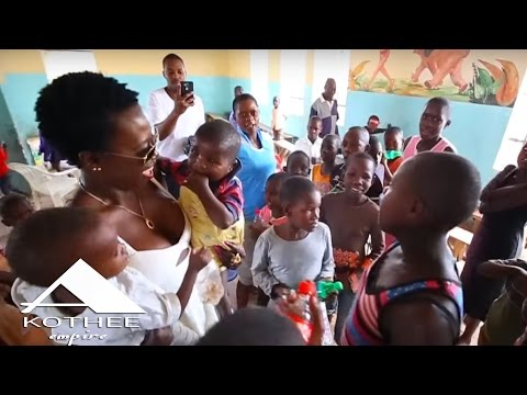 Akothee - A day at Mama Ngina Childrens Home