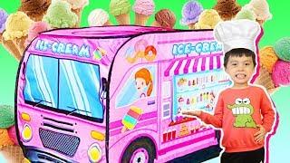 아이스크림 가게놀이 Pretend play with ice cream shop like BoramTube
