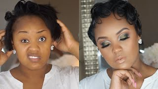 QUICK And EASY SHORT HAIR STYLING