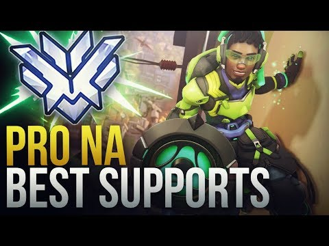 THE GOD SUPPORTS FROM NA - Overwatch Montage