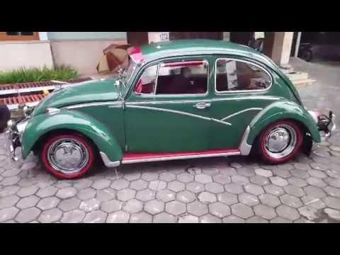 Salon Mobil Jogja - Car Detailing (AMAZING GREEN) VW Beetle tahun 66