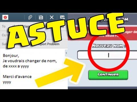 comment changer de nom une deuxi me fois bug clash royale youtube. Black Bedroom Furniture Sets. Home Design Ideas