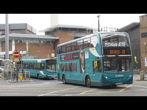 Buses & Trains on Merseyside May 2018