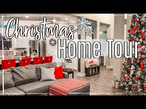 CHRISTMAS HOME TOUR 2019 :: MODERN FARMHOUSE CHRISTMAS DECORATE WITH ME | HOLIDAY ENTIRE HOUSE TOUR