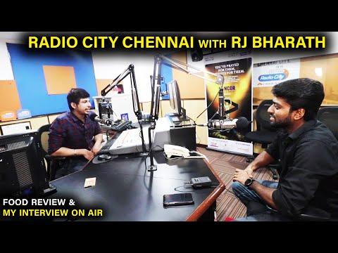 FOOD & FUN !! A DAY AT RADIO CITY CHENNAI with RJ BHARATH | DAN JR VLOGS
