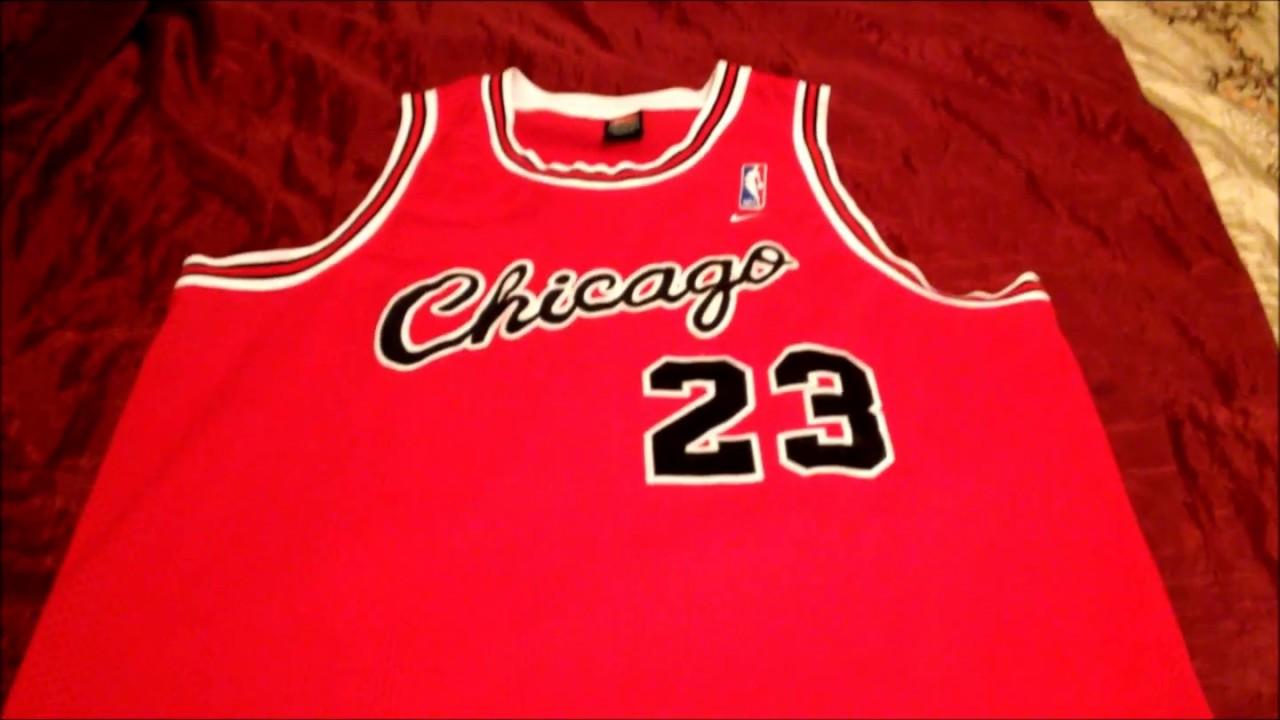 more photos 632aa 1e0a4 Nike Rewind Chicago Bulls Jordan Throwback Jersey 84 85 Season