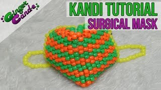 Repeat youtube video Surgical Mask - [Kandi Tutorial] | @GingerCandE