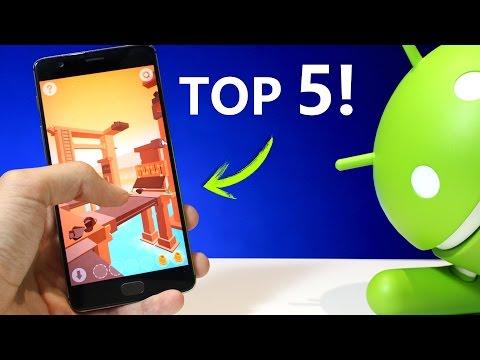 Hola! Aqui tienes 5 JUEGOS NUEVOS para Tu Android :D