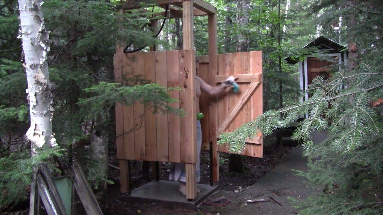 L 39 gosseux d 39 bois ep 90 la douche du chalet youtube - Sortie de douche bois ...