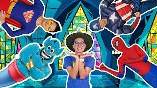 Superheroes Finger Family   Nursery Rhymes    BiBu TV