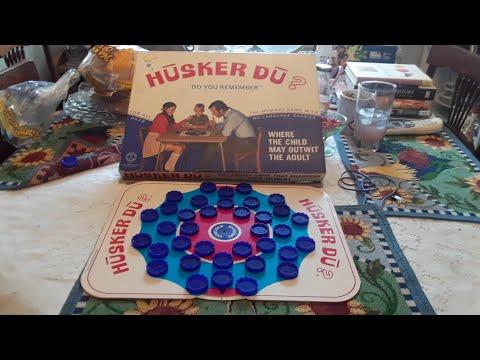 Husker DU ? Board Game