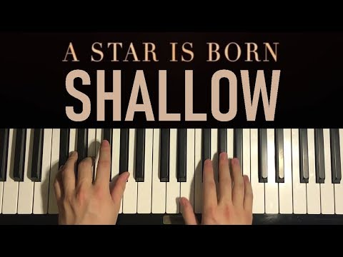 HOW TO PLAY – Lady Gaga, Bradley Cooper – Shallow (Piano Tutorial Lesson)