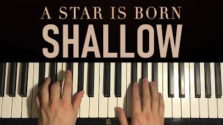Baixar HOW TO PLAY - Lady Gaga, Bradley Cooper - Shallow (Piano Tutorial Lesson)