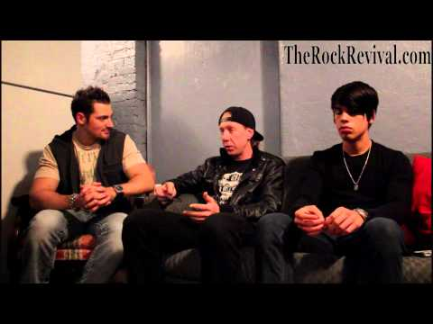 The Red Jumpsuit Apparatus Interview with Randy Winter & Josh Burke on 2012 U.S. Tour