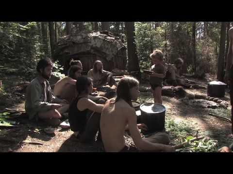 Primitive Survival Documentary: Families Live 1 YEAR in the Wilderness