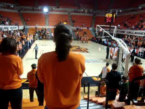 Andrea Riley OSU Cowgirls December 22 2009 Highest Scoring ...