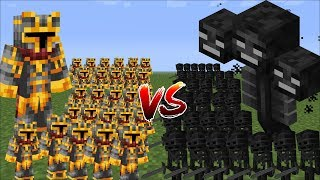 - Minecraft 1000 SKELETONS VS 1000 MC NAVEED BATTLE MOD FIGHT WITH MINI SOLDIERS Minecraft