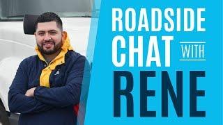 Team Talk with Celadon  Driver Rene