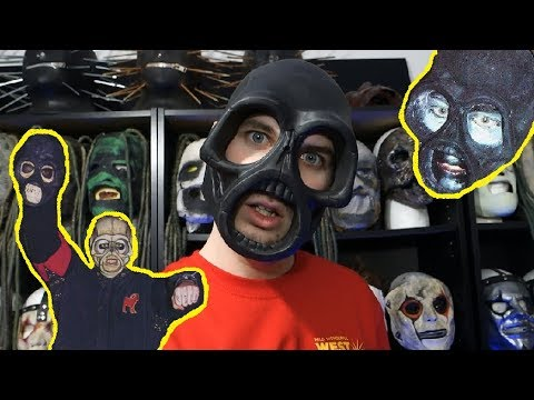 SLIPKNOT SID WILSON IOWA MASK UNBOXING!