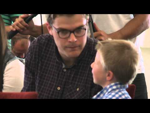 Guy Williams | All Blacks Press Conference with Little Guy | Jono and Ben At Ten