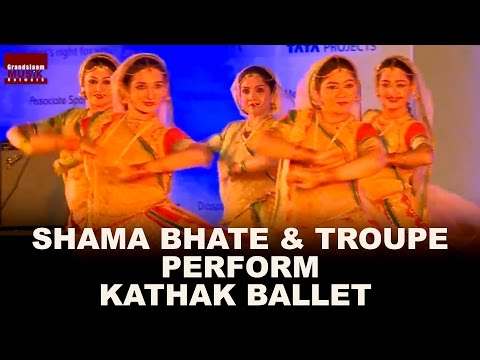 Shama Bhate & Troupe Perform Kathak Ballet at Pt. Bhimsen Joshi National Festival