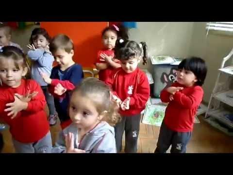 Maternal III - Ensaio na sala de aula