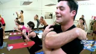 Extreme workouts: Chris Emma tries hot yoga