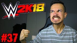 ICH RASTE KOMPLETT AUS HAHA !! WWE 2K18 : Auf Rille zum Titel #37 [FACECAM]