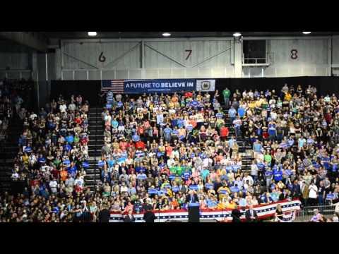 Bernie Sanders At Big Sandy Superstore Arena Huntington Wv