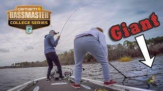 My Biggest College Tournament YET - Toledo Bend Bass Fishing