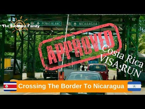 Visa Run - Costa Rica To Nicaragua Border Crossing
