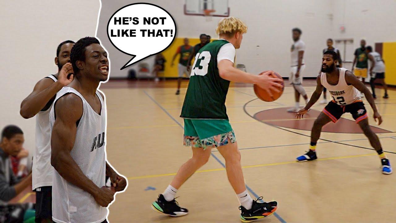 I Dropped 40 On TRASH TALKERS! 5v5 Men's League Basketball!