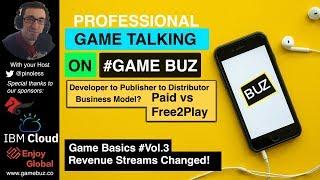 #GameBasics 3: Game Revenue Streams world wide - Developers Publisher Distributors business model