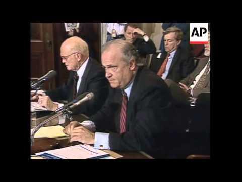USA: PRESIDENT CLINTON