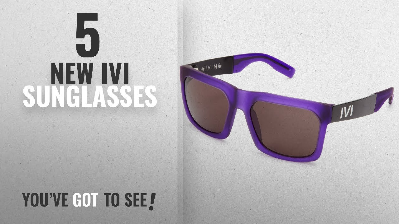 7e9c2c03743 Top 10 Ivi Sunglasses   Winter 2018    IVI Giving 02984-908 Wayfarer ...