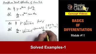 Examples on Direct Application of Chain Rule (BD11)