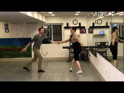 Learn to Swing Dance Lindy Hop | Level 7 Lesson 8 (Swing-Out Stylizations) | Shauna Marble