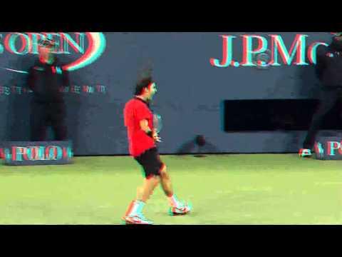 Federer best shot ever now in 3d !!!