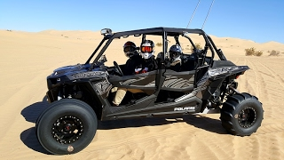 2017 RZR XP 1000 Turbo Glamis California